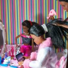 The Black Barbie Traditional Wedding  Image
